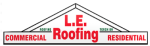 LE Roofing Logo